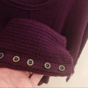 Lucky Brand Tops - Lucky Brand Purple Thermal Long Sleeve Top XS